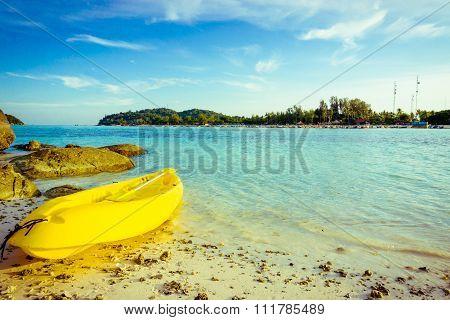 Kayak Rentals On The Beach