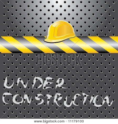 Under Const Helmet