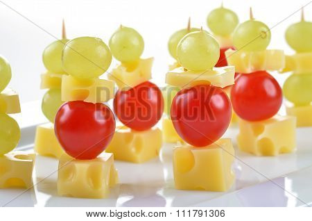 Cheese skewer