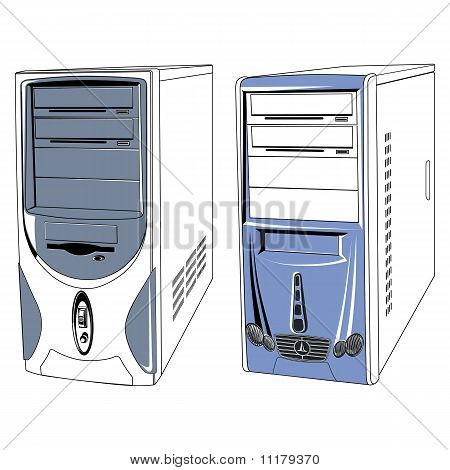 Computer-cases
