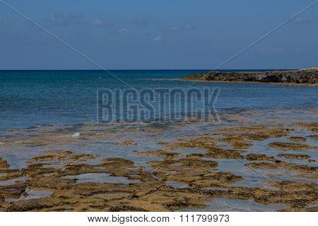 View Of The Protaras Beach