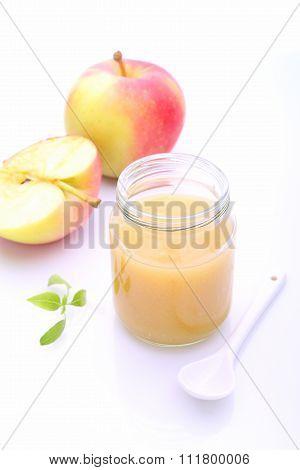 Apple Puree (sauce) For Children