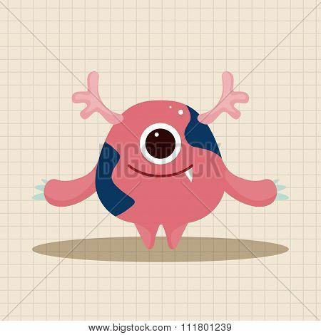Bizarre Monster Theme Elements