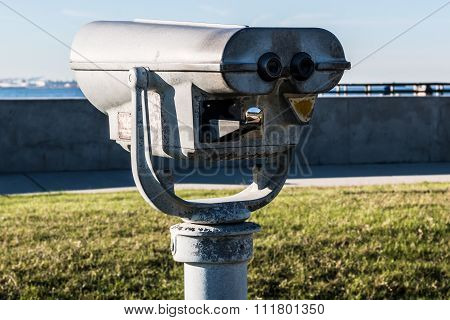 Sightseeing Binoculars at Fort Monroe