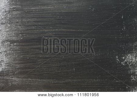 Grunge Black Concrete Old Texture Wall