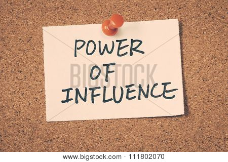 Power Of Influence