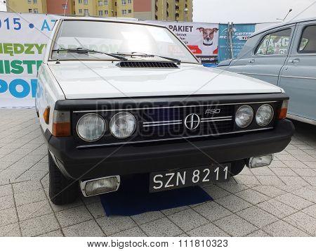 Antique car FSO Polonez MR'78