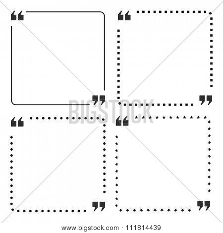 quote box frame design