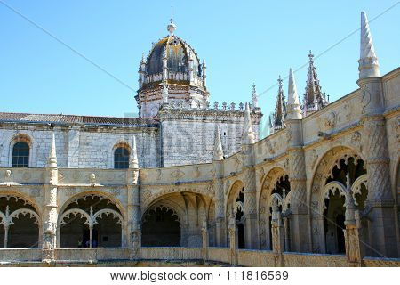 Jeronimos Monastery, Lisbon, Portugal.