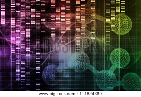 Genetic Science Research as a Medical Abstract Art
