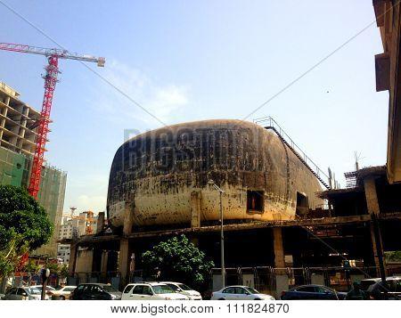 Old cinema building, Beirut, Lebanon