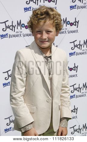 HOLLYWOOD, CALIFORNIA - June 6, 2011. Parris Mosteller at the Los Angeles premiere of