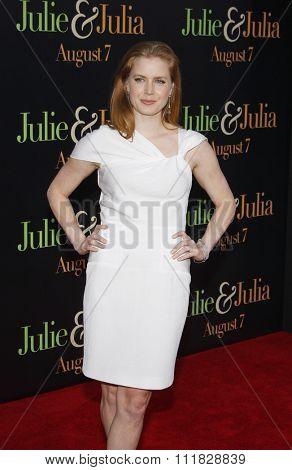 Amy Adams at the Los Angeles screening of