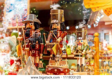 Christmas Market in Brugge, Belgium.