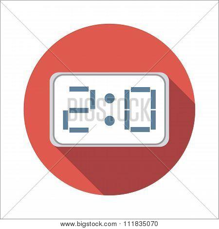Score-board flat icon