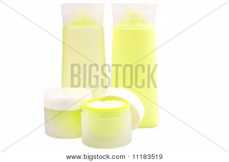 Green Cosmetic Cream