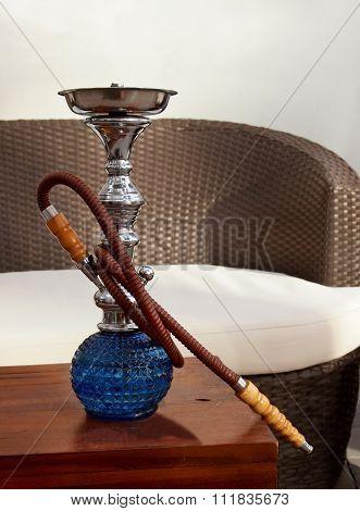 Blue Hookah Pipe