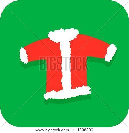 santa claus Christmas coat or jacket