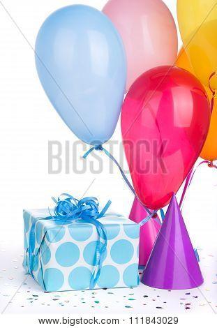 Blue Birthday Present
