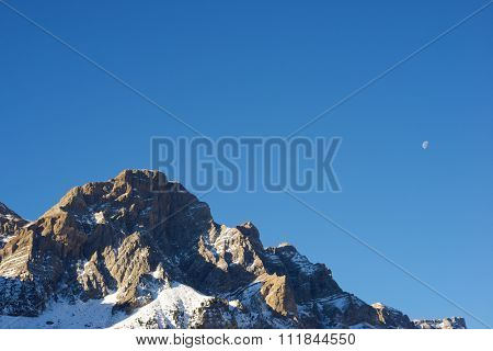 Telera Peak, Partacua Mountains, in Tena Valley, Aragon, Huesca, Spain.