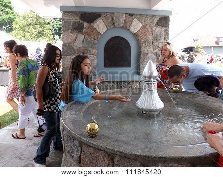 Harbor Springs Memorial Fountain