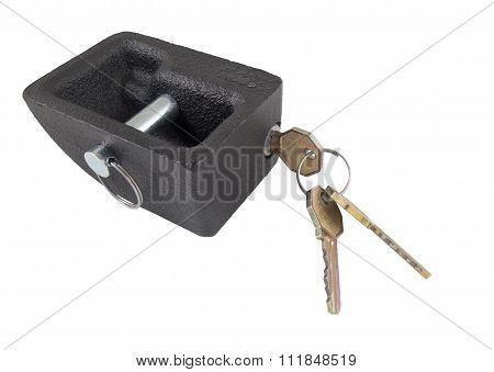 Metal Lock And Keys