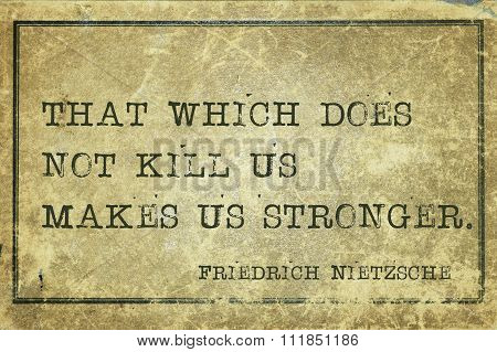 Make Stronger Nietzsche