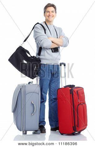 Hombre de turismo.