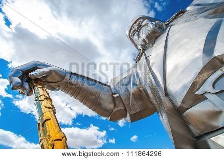The Worlds Largest Statue Of Genghis Khan