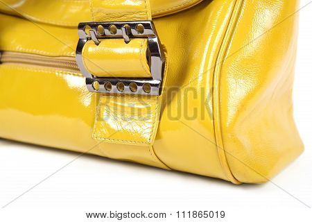 Buckle Of A Woman Bag