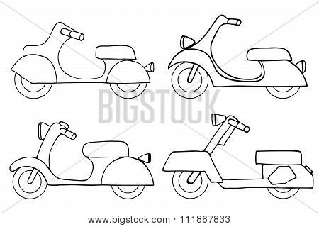Vector Set Scooters