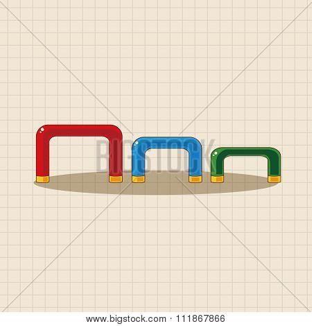 Amusement Park Facilities Theme Elements