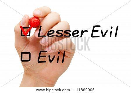 Lesser Evil Concept