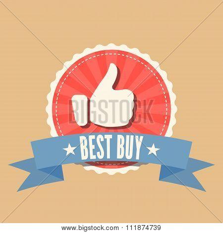 Best Buy sale badge
