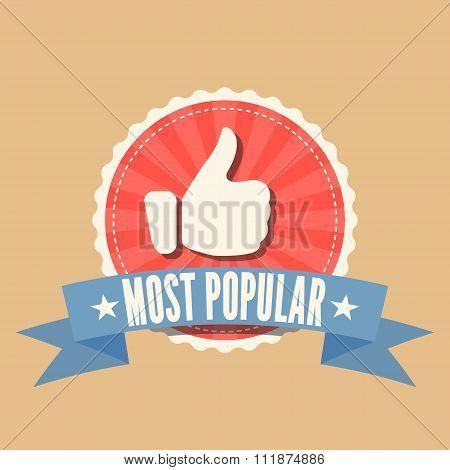Most Popular sale badge
