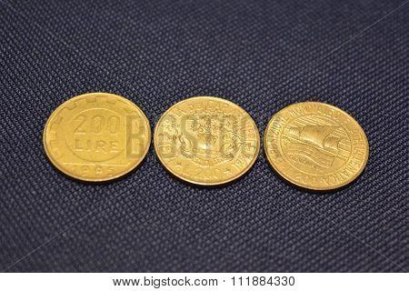 Italian money - Italian lira