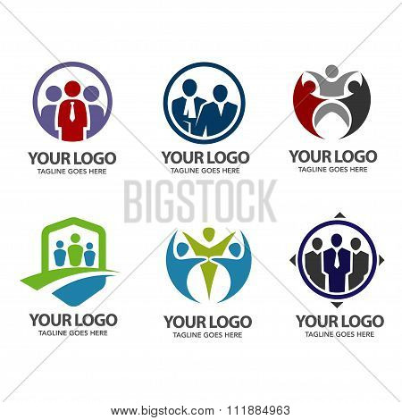 People community logo set
