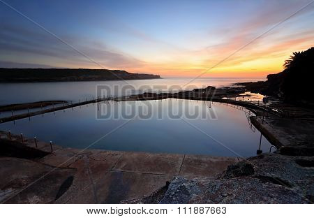 Malabar Pool At Dawn