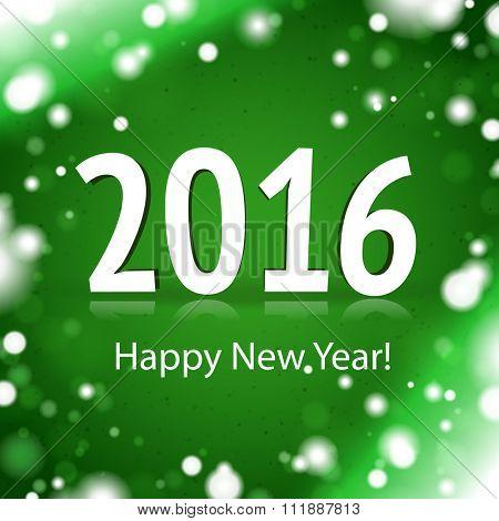 2016 Happy New Year Card