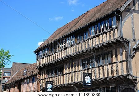 Timbered buildings, Coventry.