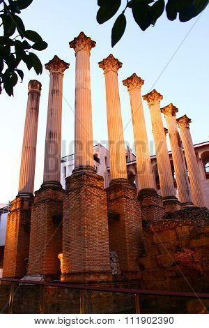 Roman Temple columns