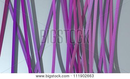 Ribbon Paper Background Magenta