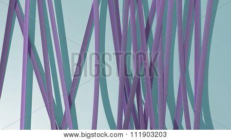 Paper Ribbon Background Light Purple