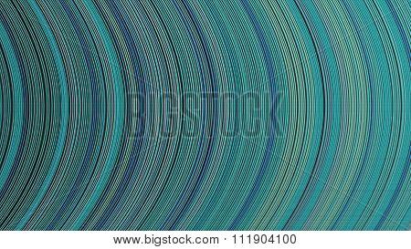 Curve Ribbon Pattern Light Blue