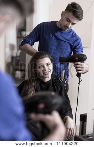 Professional Male Hairdresser