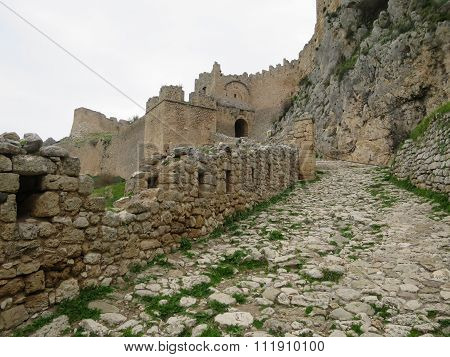 Castle In Ancient Corinth
