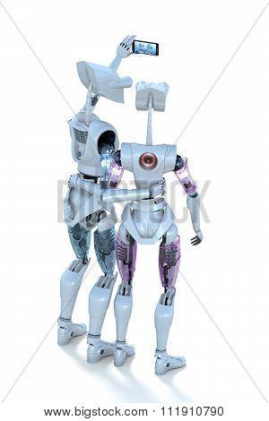 Robots Taking Selfie