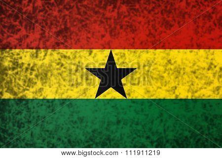 Flag Of Ghana.