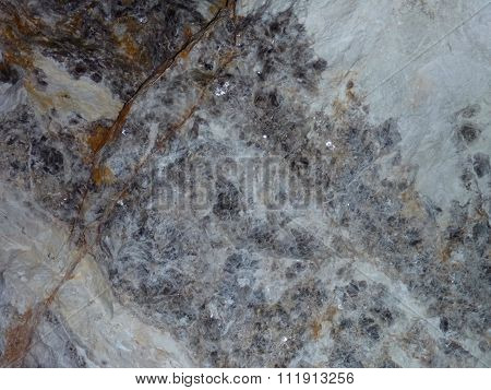 Stone Mineral Texture Grey And White