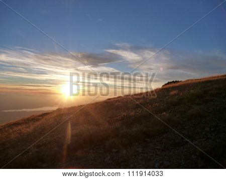 Beautiful Sunset In Tatry Mountains